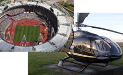 EC130 London Helicopter Tour with Olympic Tour